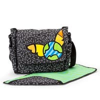 Gund Baby Britto Bebe From Enesco 10.5 inch Diaper Messenger Bag - 	13.0 in. x 3.0 in. x 15.0 in.