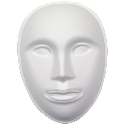Creativity street paperboard mask face 4192