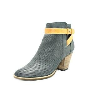Dolce Vita Yuri Women  Round Toe Leather Black Ankle Boot