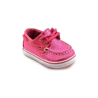 Sperry Top Sider Bahama Crib Moc Toe Canvas Boat Shoe
