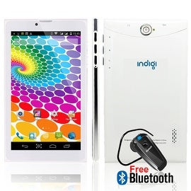 Indigi® 7.0inch Android 4.4 KitKat 3G Factory Unlocked 2-in-1 DualSIM SmartPhone + TabletPC w/ Bluetooth included