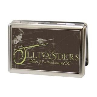 Harry Potter Ollivanders Makers Of Fine Wands Fcg Business Card Holder