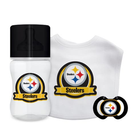 Pittsburgh Steelers Baby Gift Set 3 Piece