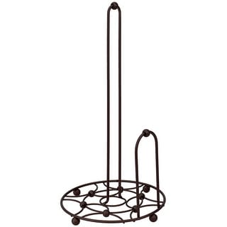 Link to Paper Towel Holder with Side Dispensing Tear Bar, Oil-Rubbed Bronze Similar Items in Kitchen Storage