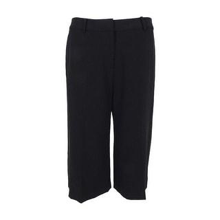 MICHAEL Michael Kors Women's Culotte Pants (Black, 2) - 2