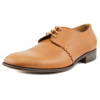 Jil Sander PE03 Men Square Toe Leather Brown Oxford