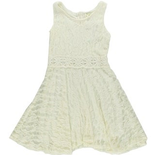 Kiddo by Katie Girls Knit Lined Special Occasion Dress - L