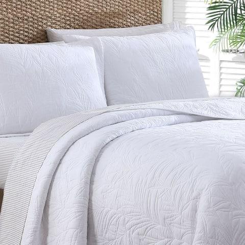 Tommy Bahama 100% Cotton Sera Stitch Quilt (Shams Sold Separately)