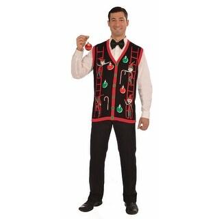 Decorating Elves Ugly Christmas Vest Adult
