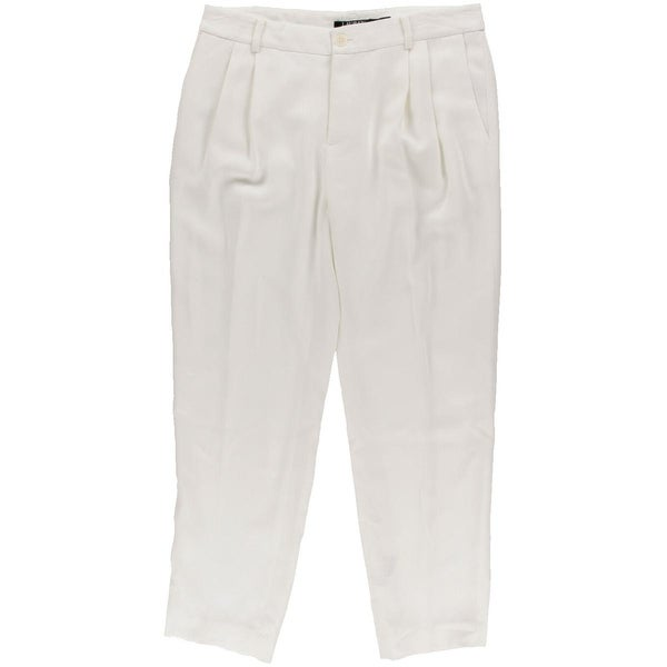 Lauren Ralph Lauren Womens Dress Pants Crepe Double Pleat