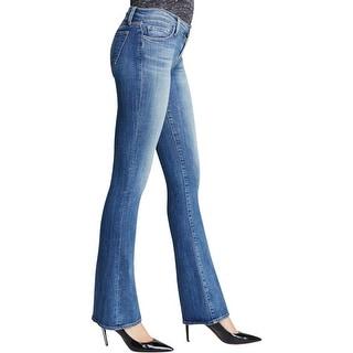 J Brand Womens Betty Bootcut Jeans Denim Mid-Rise