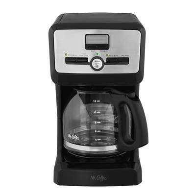 Mr. Coffee 12-Cup 900W Programmable Coffee Maker in Black