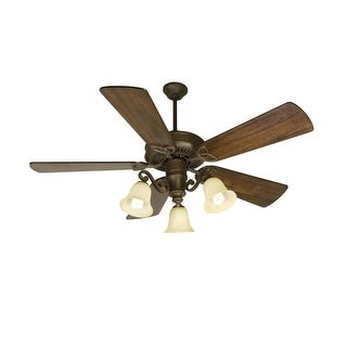 "Craftmade K10674 CXL 54"" 5 Blade Energy Star Indoor Ceiling Fan - Blades and Light Kit Included"