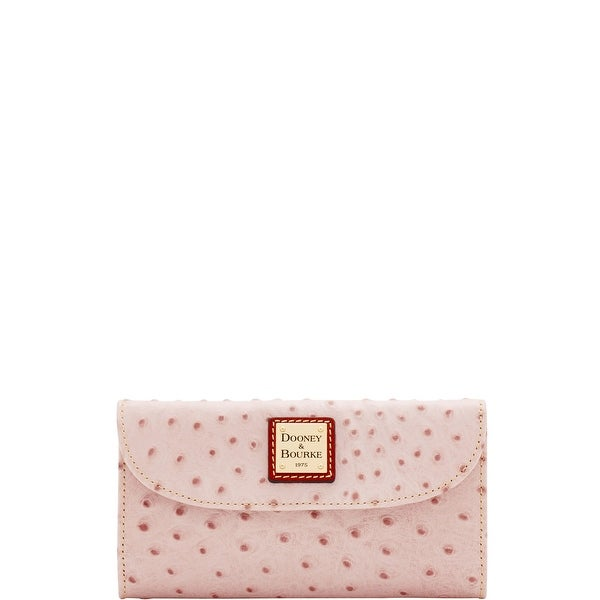 Dooney & Bourke Ostrich Continental Clutch (Introduced by Dooney & Bourke at $128 in Jan 2018)