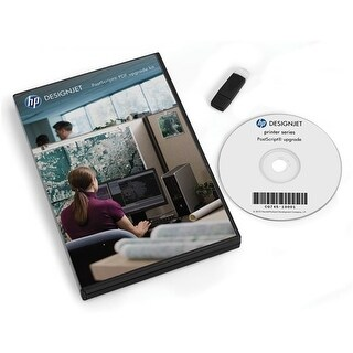 """HP DesignJet PostScript Upgrade Kit Software"""