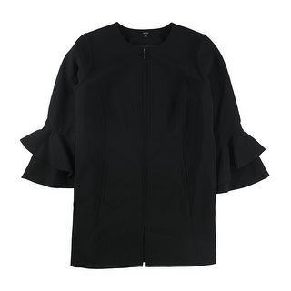Link to Alfani Womens Ruffle Sleeve Jacket Similar Items in Women's Outerwear