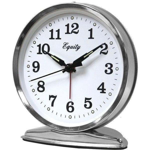Lacrosse 24014 metal keywind alarm clock 36hr