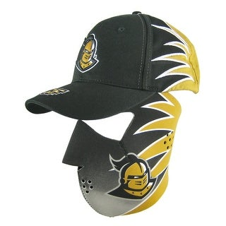 UCF Knights Neoprene Facemask / Ball Cap Set Biker - Black