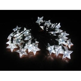Smart Solar 3730WR30 Solar Star Light String with Star Covers
