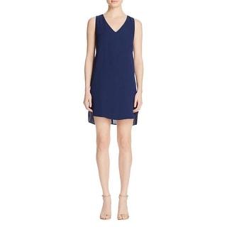 Aqua Womens Casual Dress Chiffon Sleeveless