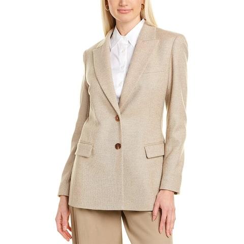 Lafayette 148 New York Harlow Wool & Cashmere-Blend Blazer