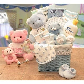Gift Basket Drop Shipping Sweet Baby of Mine New Baby Basket - Blue