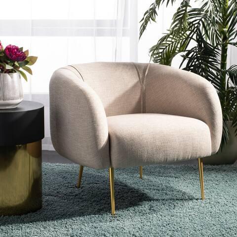 "Safavieh Couture Alena Chair - 33""x29.9""x28.7"""