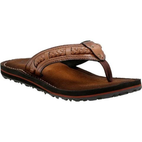 19110fca7 Clarks Women s Fenner Nerice Flip Flop Honey Synthetic