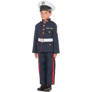 Forum Novelties Formal Marine Child Costume (S) - Blue - Small