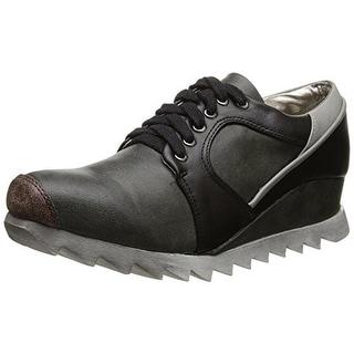 2 Lips Too Womens Too Ripped Distressed Wedge Fashion Sneakers - 7.5 medium (b,m)