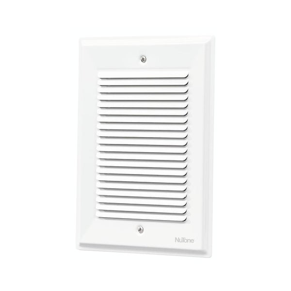 NuTone SLA14 Two-Note Door Chime Built-In for Flush Mounting with One Note Second Door Chime - White - N/A