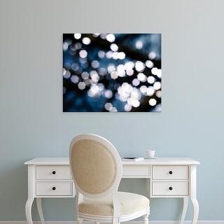 Easy Art Prints Sonja Quintero's 'Bokeh Blue II' Premium Canvas Art