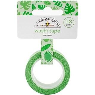 Doodlebug FIS5214 Fun in Sun Washi Tape - Rainforest