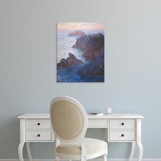 Easy Art Prints Claude Monet's 'Rocks at Belle