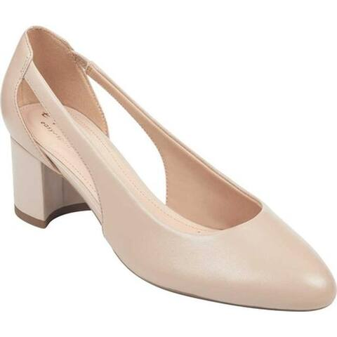 79e58cca1f0 Easy Spirit Women s EVOLVE Rise Pump Natural Leather