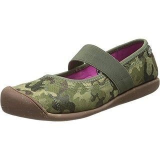 Keen Womens Sienna Canvas Camouflage Mary Janes