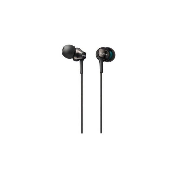 Sony MDREX15APB Sony EX Monitor Headphones (Black) - Stereo - Black - Mini-phone
