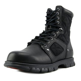 Polo Ralph Lauren Dennison Round Toe Leather Combat Boot