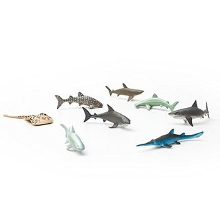 Fun Central AU195 Shark Toys - Assorted Styles, 12 Count