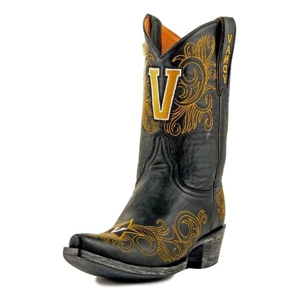 Gameday Boots Womens College Vanderbilt Commodores Black