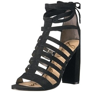 Sam Edelman Womens Heels Caged Lace Up - 8.5 medium (b,m)