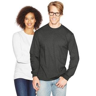 Hanes Adult Beefy-T Long-Sleeve T-Shirt