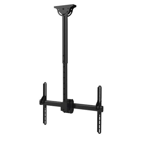 APEX by Promounts UC-PRO310 UC-PRO310 37-Inch to 80-Inch Large TV Ceiling Mount with Swivel - Black