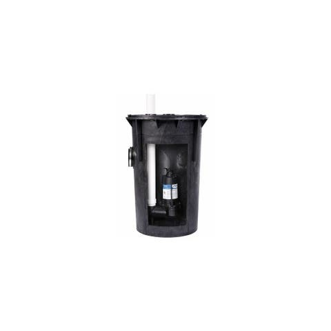 PROFLO PF93015 1/2 HP Simplex Sewage Pump Kit - Pump Includes Tethered Float Switch -