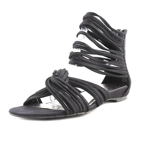 Coconuts By Matisse Tornado Women Open Toe Synthetic Black Sandals