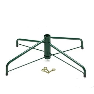 Ideal Brand Christmas Tree Stand - For Real Live Trees Up To 8' Tall
