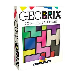 Brainwright GeoBRIX Solve Build Create Puzzle