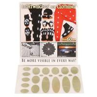 Lightweight Safety Clothing Soft Dots Reflective Gear - White - LW4C