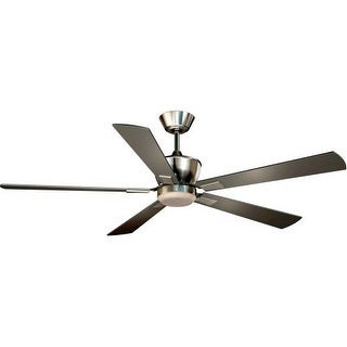 "Vaxcel Lighting F0017 Geneva 52"" 5 Blade DC Motor Indoor Ceiling Fan - Remote Control, Light Kit and Blades Included"