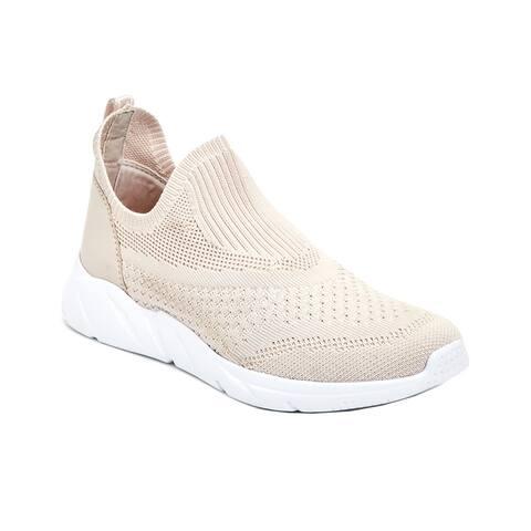 Taryn Rose Wesley Knit Weatherproof Slip-On Sneaker